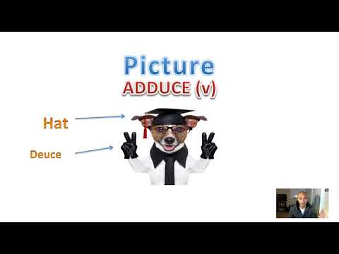 📖 Memorize College Vocabulary Words - ADDUCE | How to Learn English SAT Vocab Fast | Students