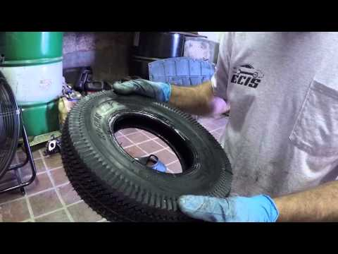 How to Change a Go Kart Tire (w/Tube)