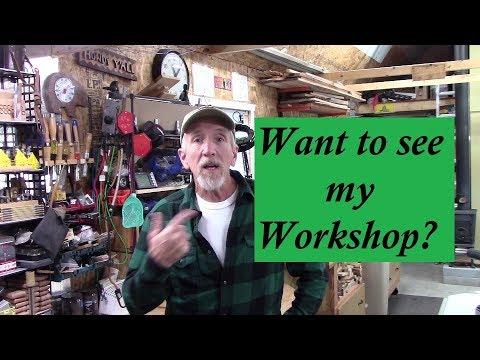 Woodworking Shop Tour !