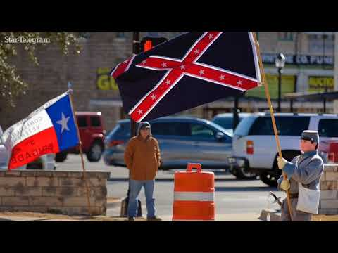 Confederate Heroes Day celebrated at Parker County Courthouse