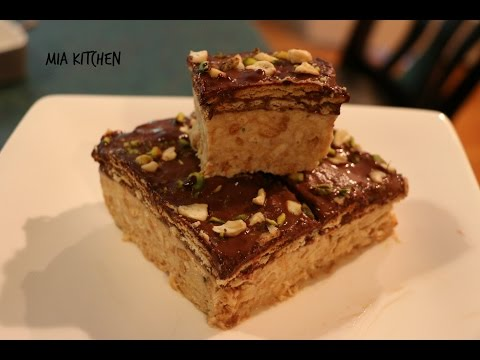 How To Make  Biscuit Pudding/No Bake/Easy Dessert