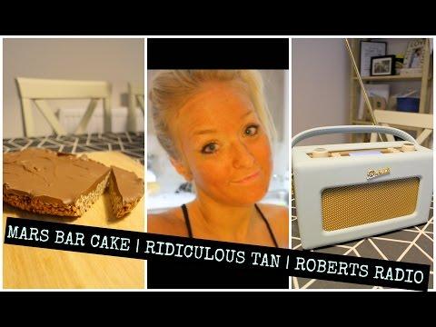 VLOG   MARS BAR CAKE & A RIDICULOUS TAN