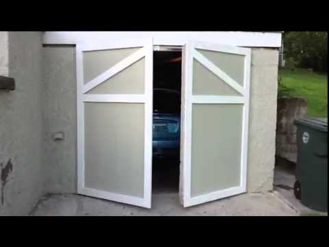 Swinging Garage Door