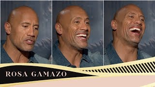 "Dwayne Johnson The Rock: ""Ego is the success inhibitor""."