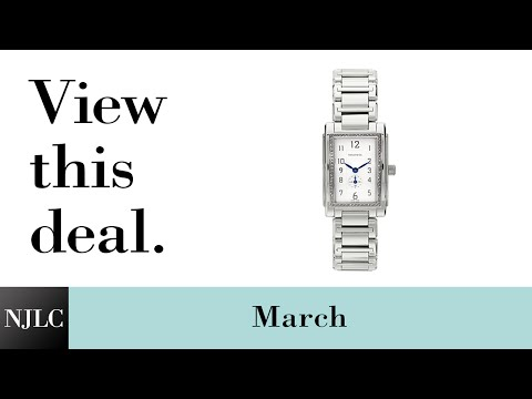 Deal of the Month: Stainless Steel Ladies' Tiffany & Co.® Watch