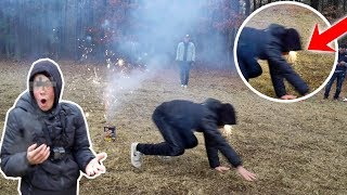 I RUINED MY FACE WITH FIREWORKS!! (wtf)