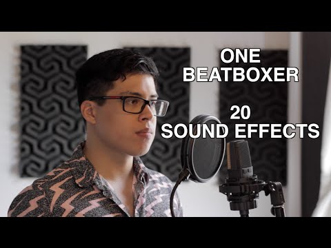 One Beatboxer, 20 Sound Effects