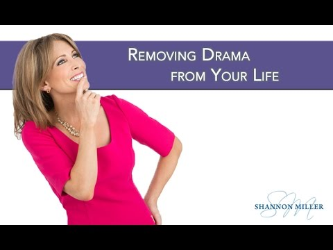 Removing Drama from Your Life