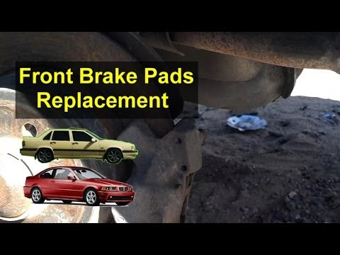 Brake pad & rotor disk replacement, front & some rear. Volvo, BMW, Jaguar, etc. - VOTD