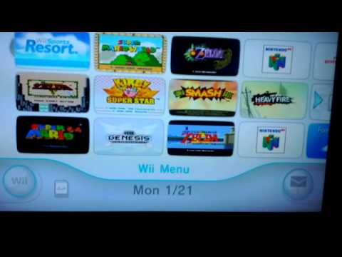 Nintendo Wii System Update features Amazon Instant Video App