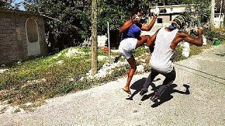 Jamaican Female Karate Master