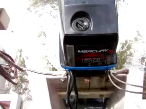 Water spray coming over pontoon boat transom motor mounting pod getting inside motor cover