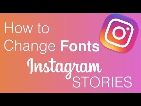Hack to Change Fonts in Instagram Stories!