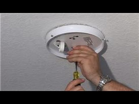 Home Electrical Repairs : How to Repair a Ceiling's Light Fixture