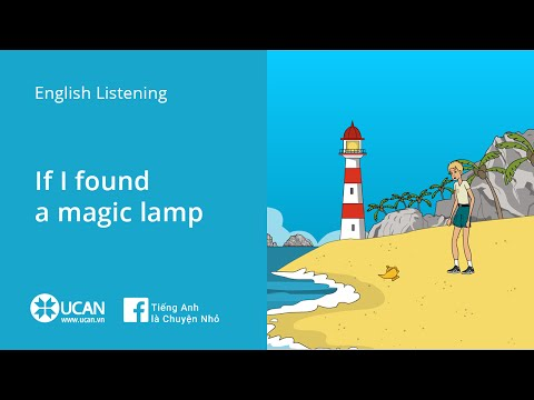 Learn English Listening   Elementary - Lesson 15. If I Found a Magic Lamp