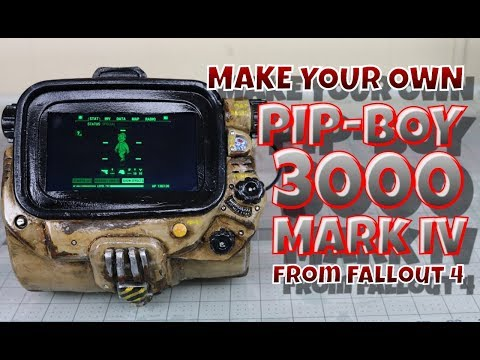 Make your own Pip-Boy 3000 Mark IV from Fallout 4