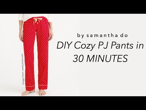 DIY PJ Pants in 30 Minutes: Easy Beginner Project