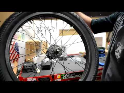 HOW TO CHANGE A BMX TIRE AND TUBE