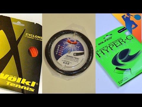Best Polyester Tennis Strings!