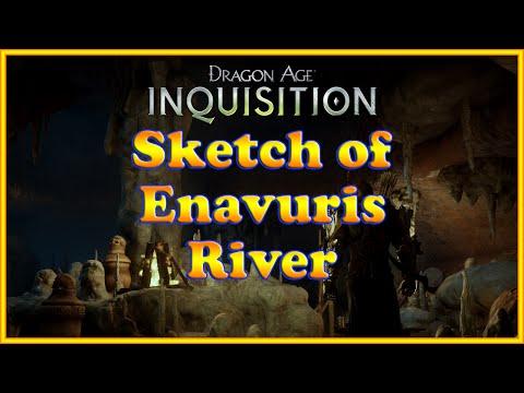 Dragon Age: Inquisition - Sketch of Enavuris River - Quest