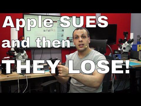 Apple SUES iPhone screen repair shop and LOSES!