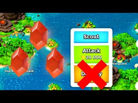 Boom Beach: How to Get MORE Power Stones from NPC Bases!