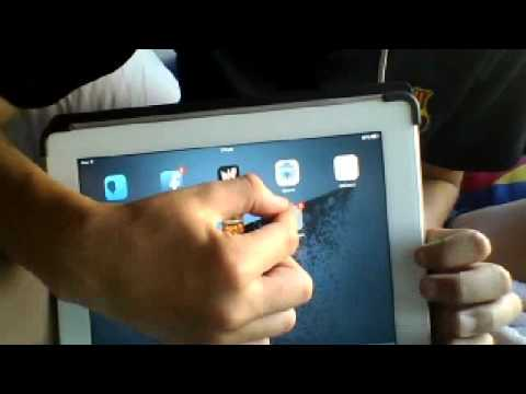 How to put a folder in another folder on ios ipad ,ipod ,iphone