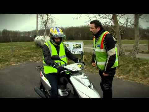 How To Ride A Motorbike - Learn To Ride A Motorbike - Get On