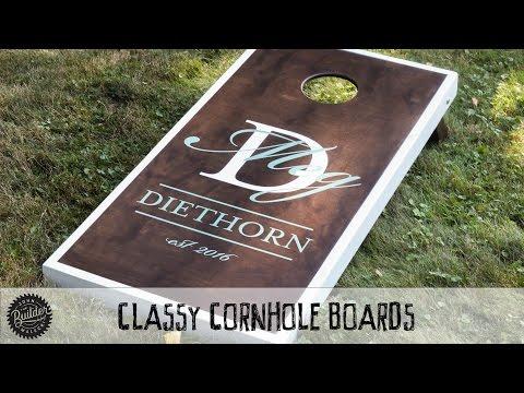 How To Build A Set Of Classy Custom Cornhole Boards