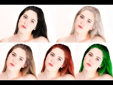 How to Change Hair Color - Photoshop Tutorial
