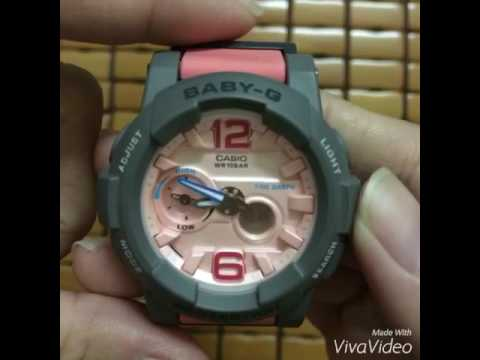 How to set your Casio Baby G 5381 😜😜😜 [Vietnamese]