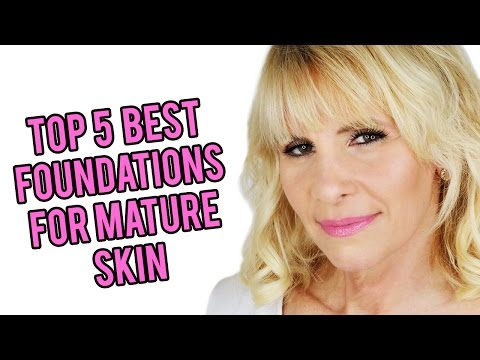 Top 5 Drugstore Foundations for Mature Women