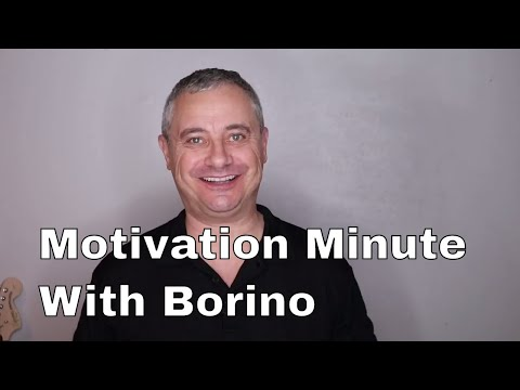 Motivation Minute With Borino - Real Estate Coaching