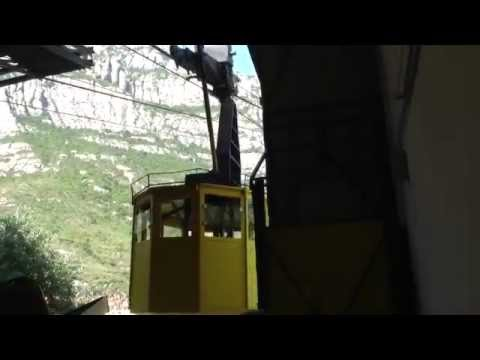 Montserrat train trip and cable car ride Barcelona