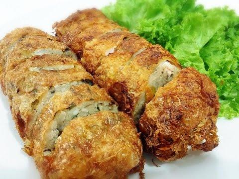 How to make Meat & Seafood Roll (Recipe ) 肉と海鮮巻きの作り方 (レシピ)