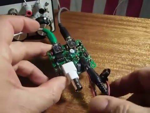 Pixie QRP - Chinese $7.00 CW Transceiver Kit (40m) 業餘無線電QRP