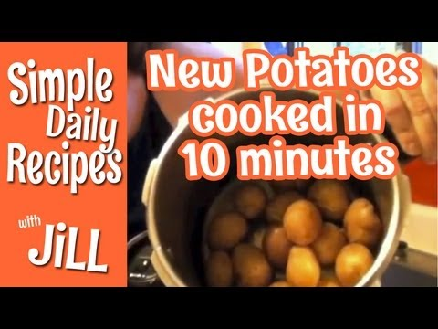 How to Pressure Cook New Potatoes - Simple Daily Recipes