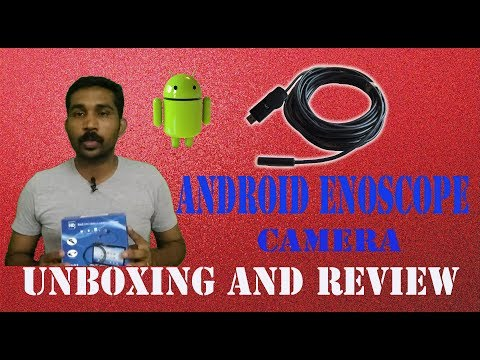 Android Endoscope camera Unboxing and Review