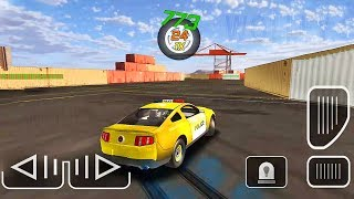 Police Drift Car Driving Special Edition | Yellow Ford Mustang Police Car - Android Gameplay Fhd