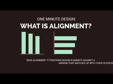 One Minute Design: What is Alignment?