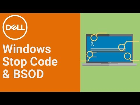 Windows Stop Code (Official Dell Tech Support)