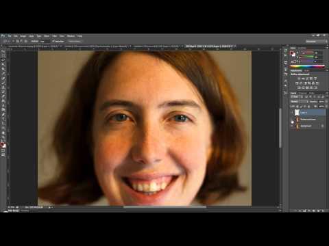 Tutorial - Enlarging Eyes in Photoshop