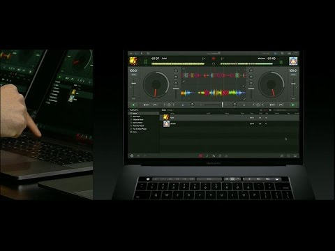 Touch Bar lets DJs scratch and mix on their MacBooks (CNET News)