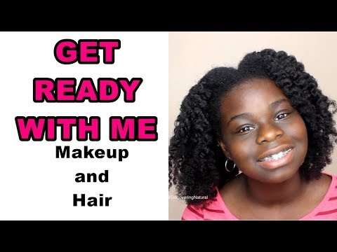 Get Ready With Me: Makeup and Hair  (Teenager Version)