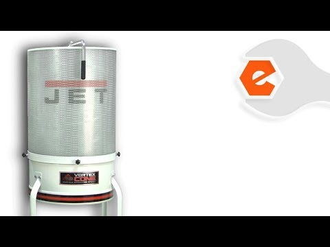 Dust Collector Repair - Installing the Canister Filter Kit (Jet Part # 708639B)