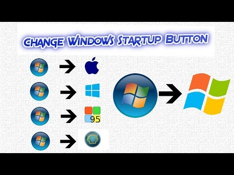 How To Change Startup Button In Windows 7 Easily