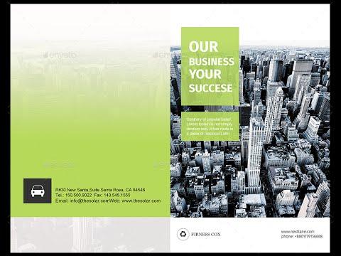 Bifold Corporate Brochure Template Vol01
