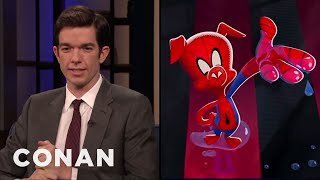 Download John Mulaney On ″Spider-Man: Into The Spider-Verse″ - CONAN on TBS Video
