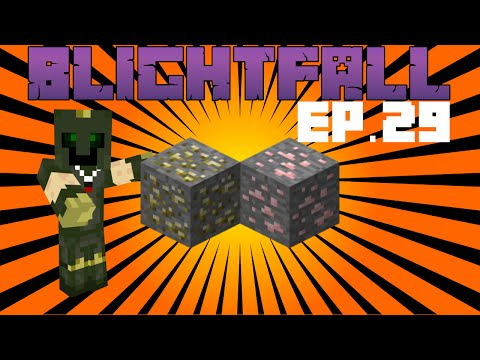 Finding Manganese - Making Steel in Blightfall Modpack for Minecraft [29]