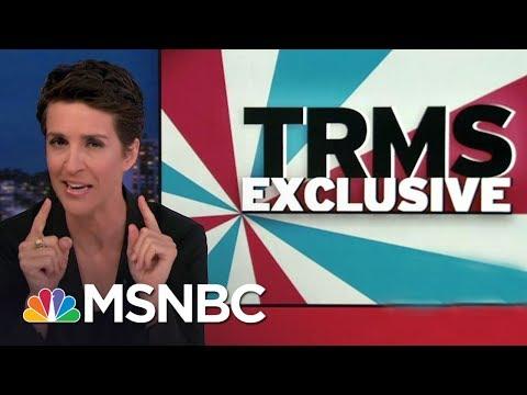 News Organizations: Beware Of Forged Donald Trump Russia Documents   Rachel Maddow   MSNBC